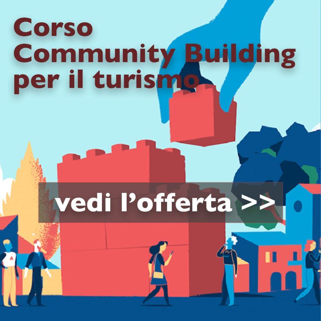 corso community building per il turismo