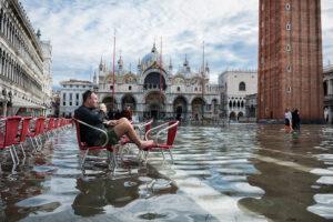 Venezia acqua alta foto di Daniele Franceschini